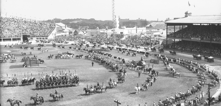 Panorama of Grand Parade Royal Agricultural Show