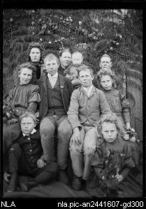 photograph of the John Poole Family