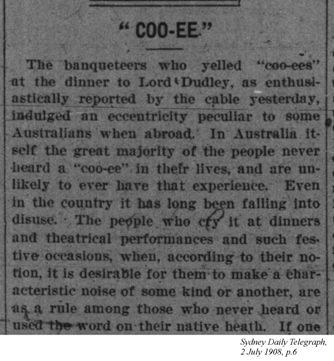 Sydney Daily Telegraph, 2 July 1908
