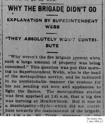 Why the brigade didn't go, The Sydney Star, 2 June 1908