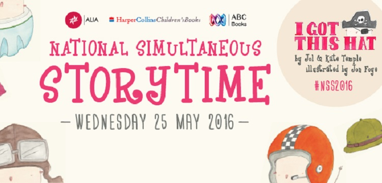 National Simultaneous Storytime 2016 banner