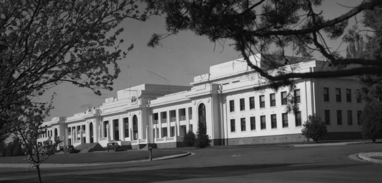 Exterior of Old Parliament House, Canberra