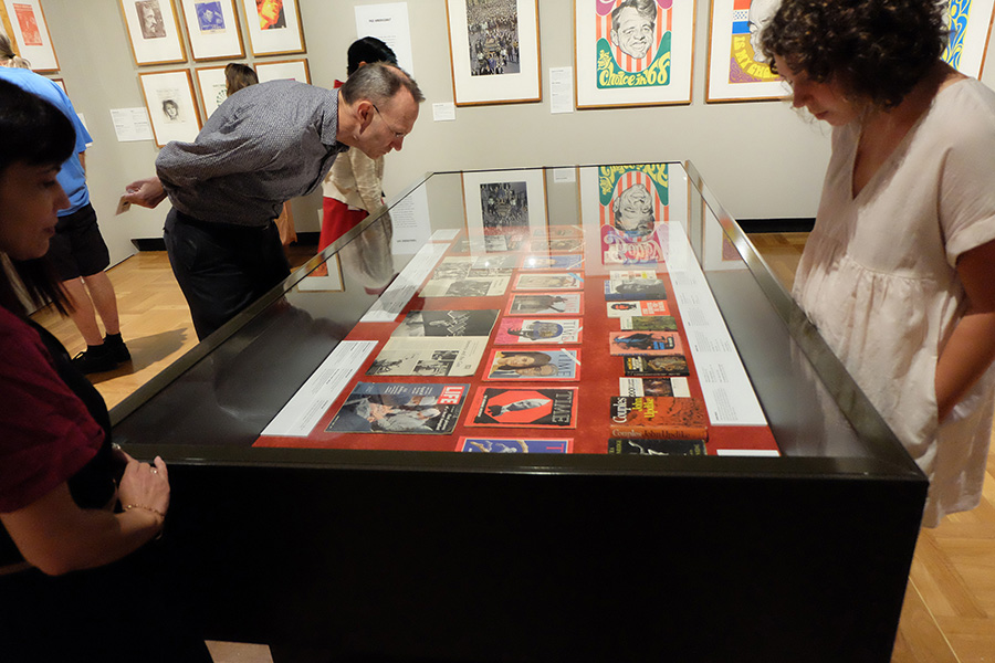 Guided tour of 1968: Changing Times exhibition