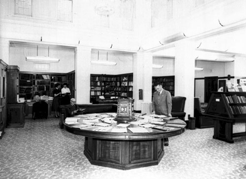 Commonwealth Parliamentary Library Reading Room, 1956