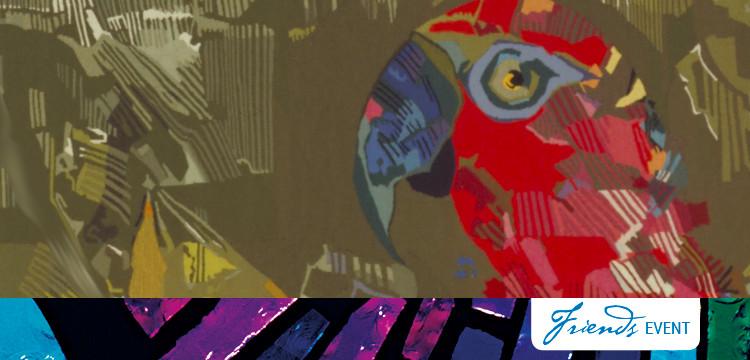 Land of parrots, tapestry, 1968, Mathieu Mategot   http://nla.gov.au/nla.obj-135766336