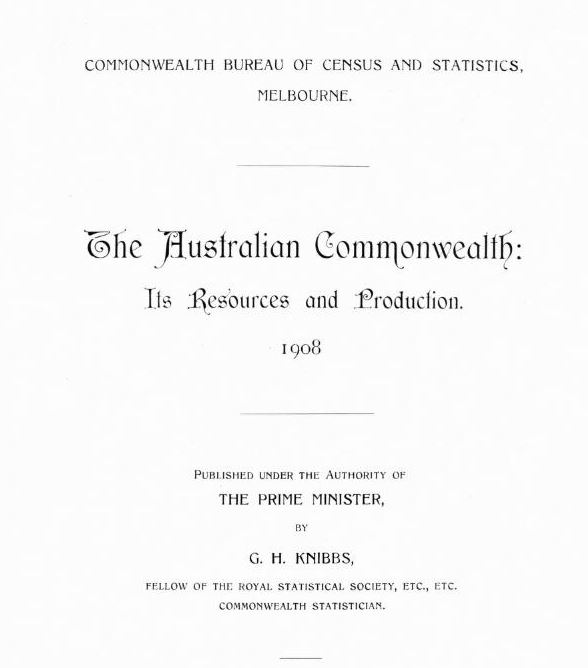 The Australian Commonwealth : its resources and production, 1908