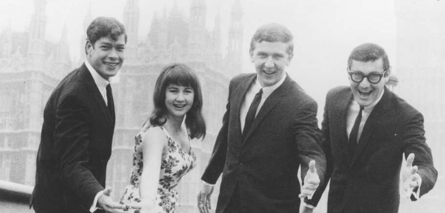 The Seekers on Westminster Bridge, London, ca. 1966 [picture]