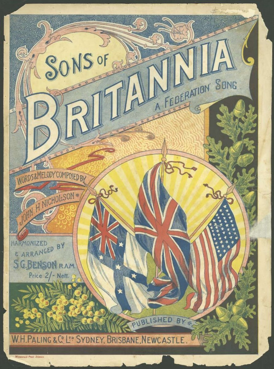 Sons of Britannia a Federation song