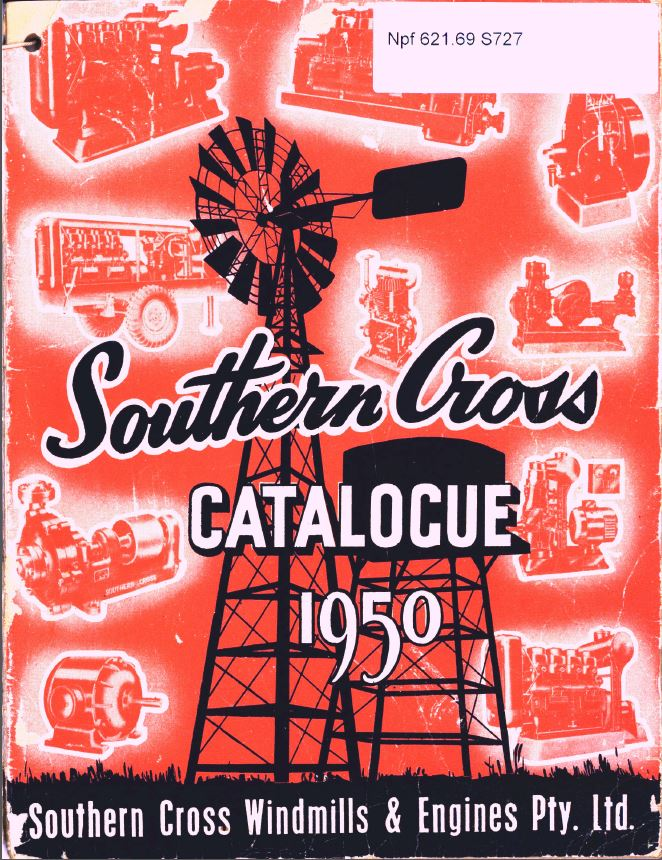 The Southern Cross catalogue 1950