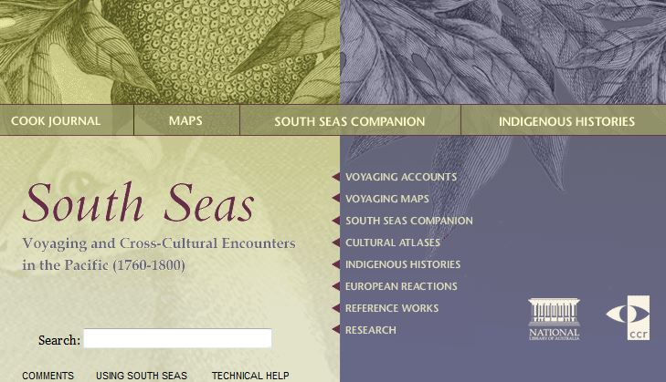 South Seas - Voyaging and Cross-Cultural Encounters in the Pacific (1760-1800)
