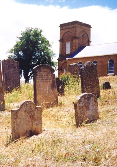 Cemetery St Peter's Church of England Hamilton Tasmania