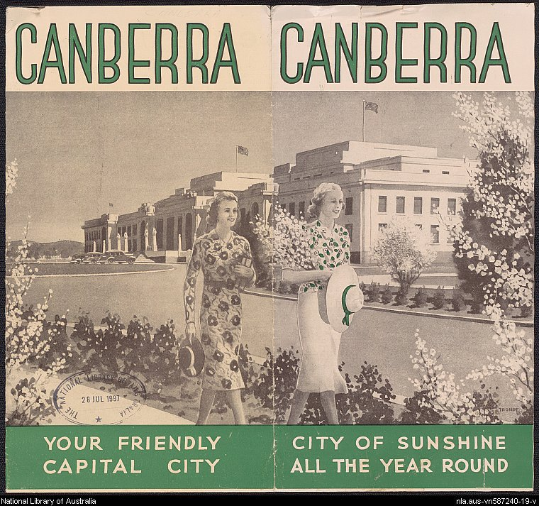 Australian Capital Territory ephemera collection