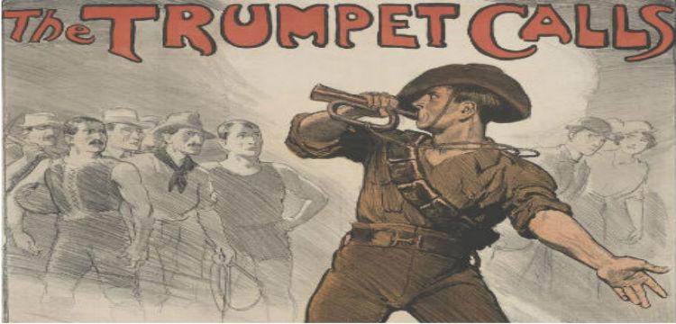 The Trumpet Calls poster