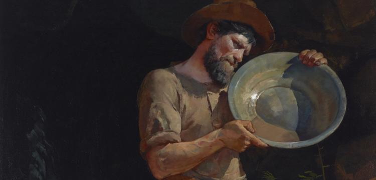 The Prospector by Julian Ashton