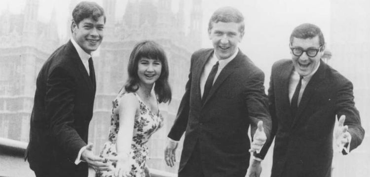 The Seekers on Westminster Bridge, London, 1966