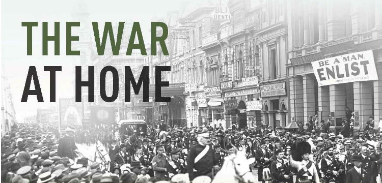 Book Cover of The War at Home