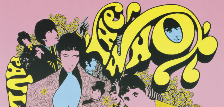 Music poster: The Who, Paul Jones, Small Faces (detail) by Ian McCausland, 1968, nla.cat-vn6455287