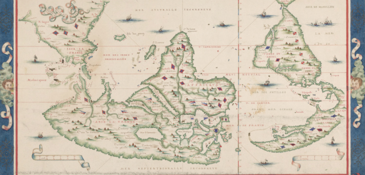 Does the National Library have ancient Chinese maps of Australia
