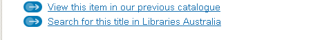 Example of the wording to use when linking to Libraries Australia