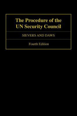 Front cover image of procedure of the UN Security Council