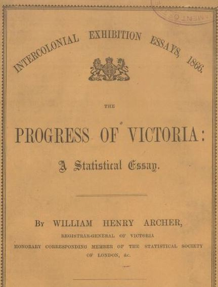 Progress of Victoria