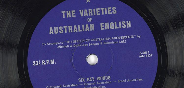 Vinyl record label