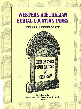 Western Australian burial location index